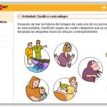 Actividades interactivas de Religión de librosvivos.net